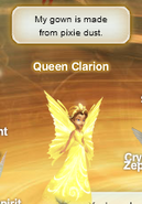 Queen Clarion pixie hollow online ingame