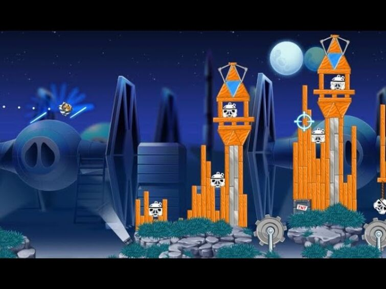 Added a new bird to Angry Birds Star Wars II.....