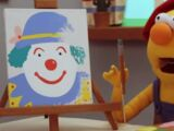 The Clown Painting