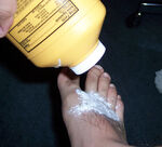 Body powder on foot.jpg