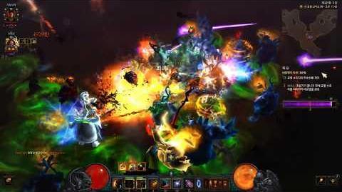 Diablo3 GR99(대균열) 3탄 작살 야만용사 깨보자!(with 불멸선망 야만용사), 디아블로3