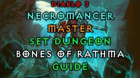 Diablo 3 Necromancer Bones of Rathma Set Dungeon How to Master Guide Live Patch 2