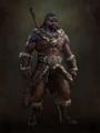 D4 Barbarian concept art