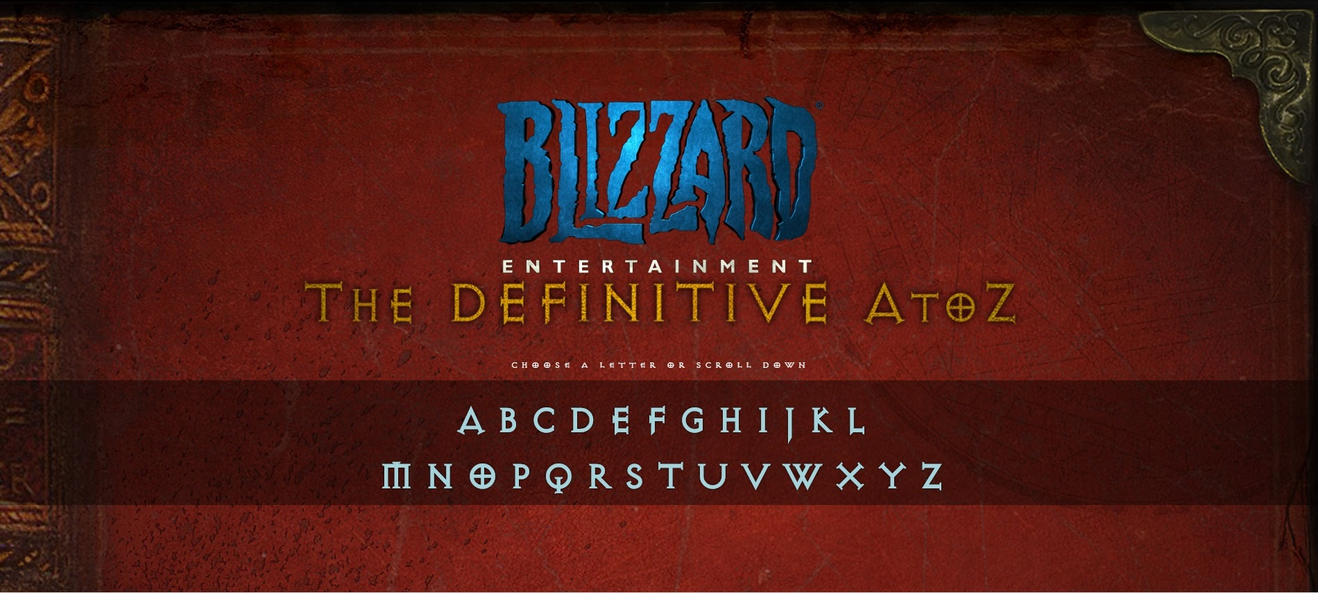 Blizzard Entertainment: The Definitive A to Z