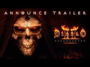 Diablo® II- Resurrected™ – Ankündigungstrailer