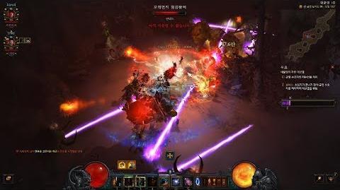 Diablo3 GR96(대균열) 작살 야만용사 깨보자!(with 불멸선망 야만용사), 디아블로3