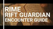 Rift guardian encounters - RIME-0