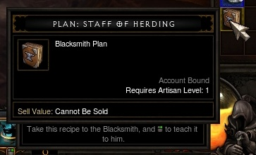 Plan: Staff of Herding