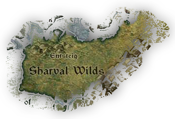 Entsteig and the surrounding Sharval Wilds