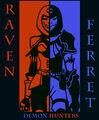 Raven and Ferret by Calavera666.jpg