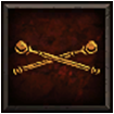 Banner Accent - Crossed Staves.png