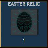 Easter egg relic