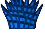 Striped Crystal Leaf