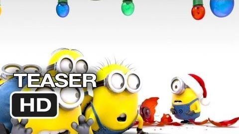 Despicable Me 2 TEASER - Merry Christmas (2013) - Steve Carell, Kristen Wiig Movie HD