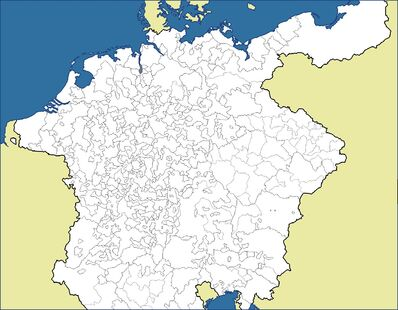 Holy Roman Empire Map 1378