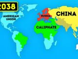 THE WORLD MAP OF THE FUTURE (2018 - 3018)...WOW! (SMART BANANA)