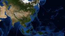 Imperium's Asia Terrain Map