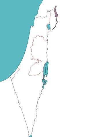 Vyacheslav Kolosov's Levant Map