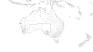 Oceania Map Provinces