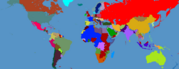 Cold War Map With Faction Borders By Napoleon Empereur