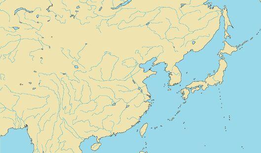 Alister Seleznev's East Asia Map