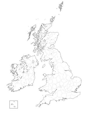 British Isles Province Map