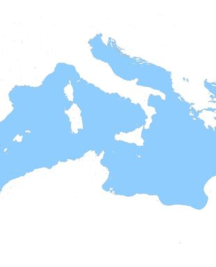Alexey Makeev's Italy and Surroundings Map