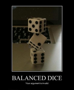 This is not the Dice you were looking for...