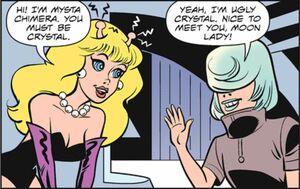 Mysta meets Crystal