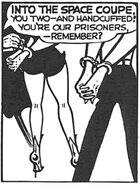 Chin Chillars are handcuffed