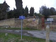 Panneau Route du Barri - Loubens-Lauragais
