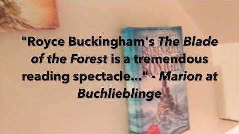 Die Klinge des Waldes Book Trailer