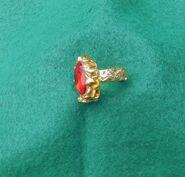 Königlicher Ring Rubin