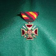 Königliches Verdienstkreuz Militärversion