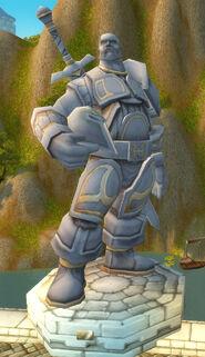 Statue Danath Trollbann
