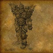 Tier11 Warrior concept art