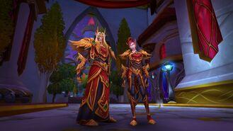 Blood elf heritage armor