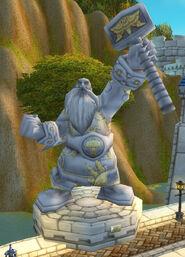 Statue Kurdran Wildhammer