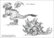 Lost Isle Dinosaurs concept art