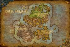 Kul Tiras Karte