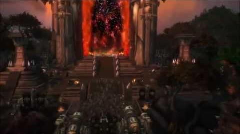 WoD Dark Portal Cinematic