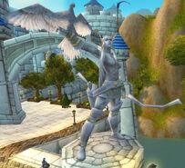 Statue Alleria Windläufer