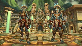 Zandalari troll Heritage Armor