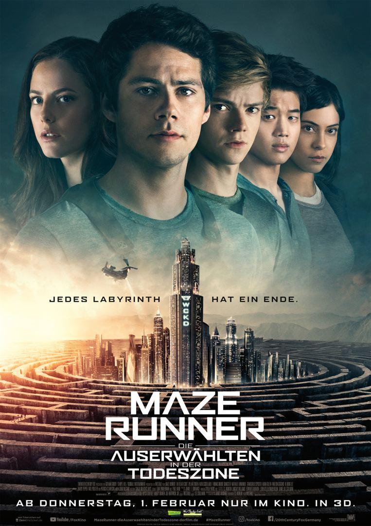 Maze Runner – Die Auserwählten in der Todeszone   Maze Runner Wiki ...