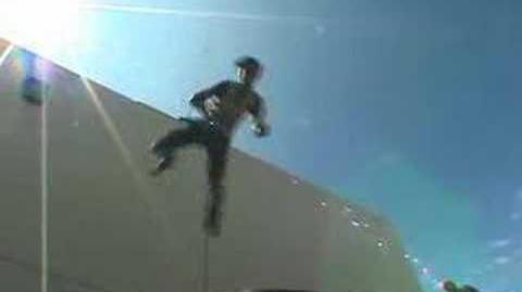 Die Hard 4 Underworld 2 Stunt Rehersals