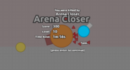 Arena Closer being attacked by base drones