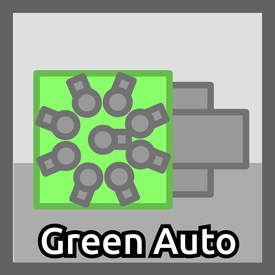Green Square Auto-Gunner