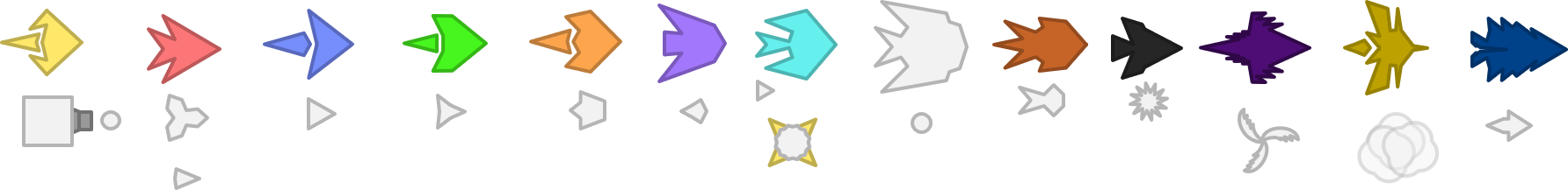 Missing Things: Polygons (Extended Tale of Diep)