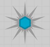 Blue Crystal Shard