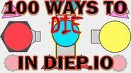 Diep.io - 100 Ways to Die in Diep